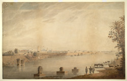 View of Mysore. 1823 or between 1831 and 1837, during Cormack's residence in S. India